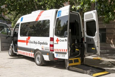 Ambulancia de Cruz Roja